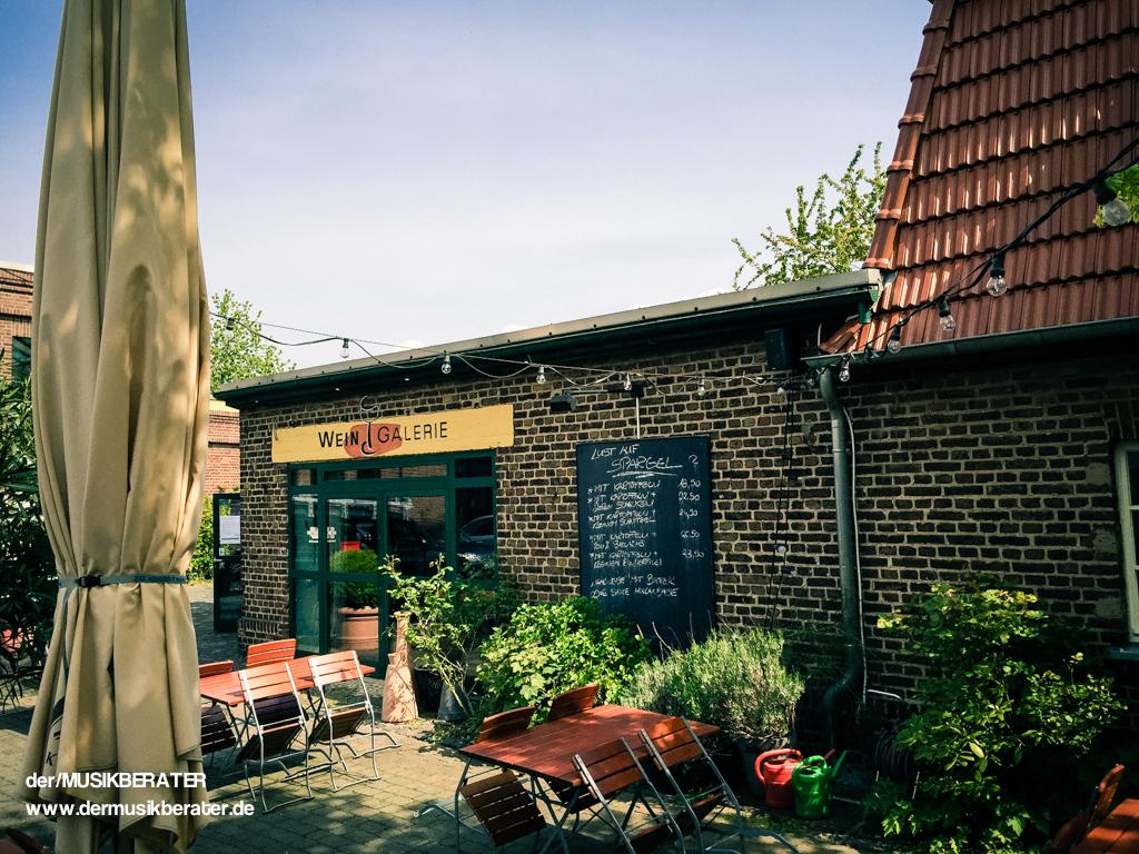 01 Weingalerie Pulheim Referenz DJ Event Technik Party Location  www.dermusikberater.de 05-2015